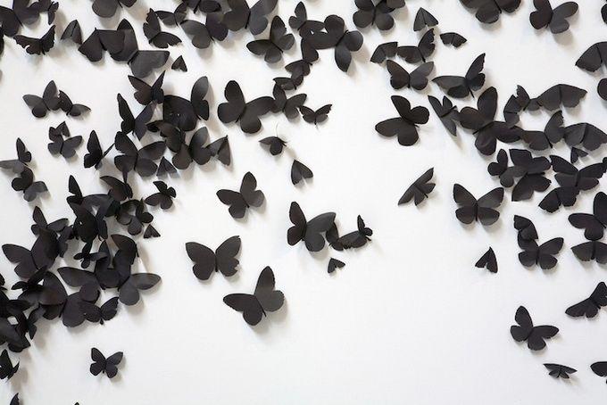 Carlos Amorales: Black Cloud installation