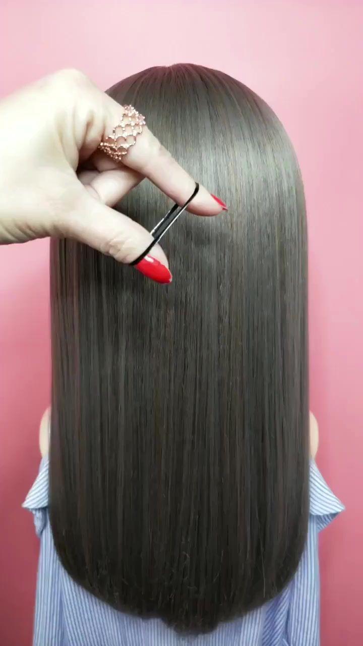 A Rubber Band N Which One Do The Fairies Like Hair Styal Hair Designs Long Hair Styles