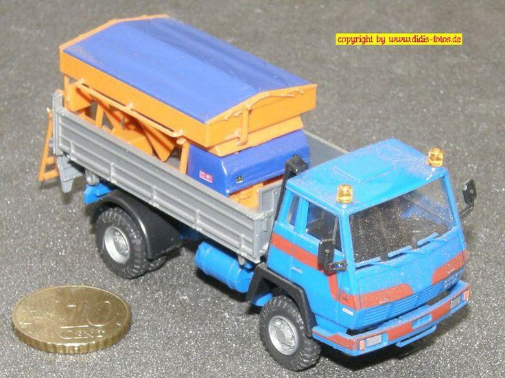 Steyr 91 Strassendienst Streufahrzeug (Roco 1654) 1:87
