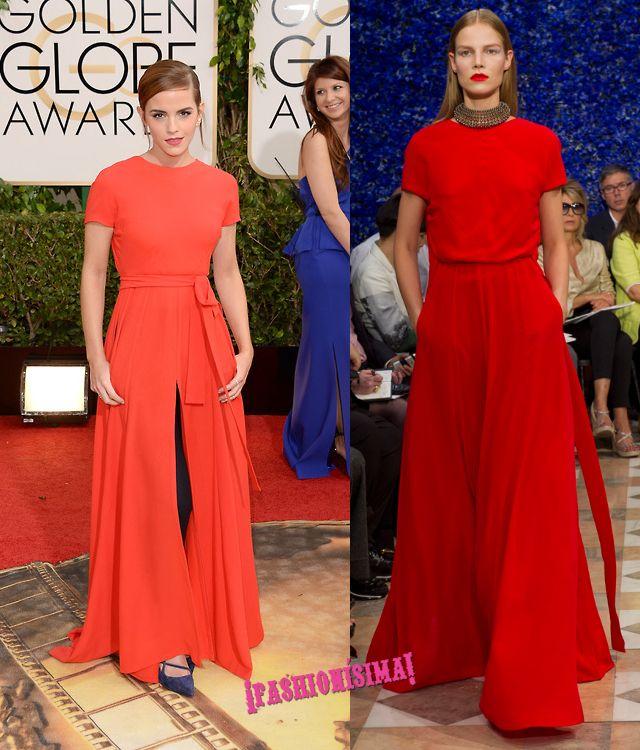 Los 10 mejores vestidos de la alfombra roja de los #GoldenGlobes 2014