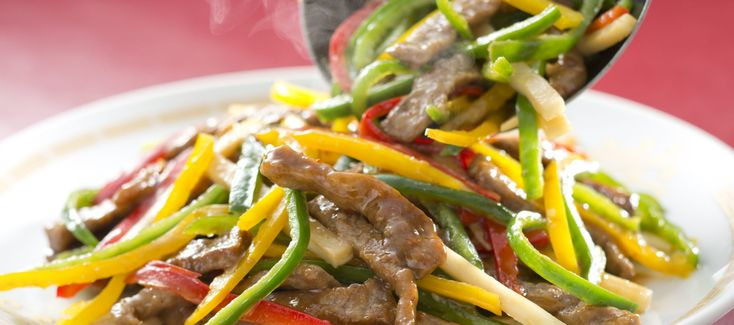 Low-Carb Abendessen Rezept: Putenbrustfilet mit Paprika und Sellerie Vitalkochen
