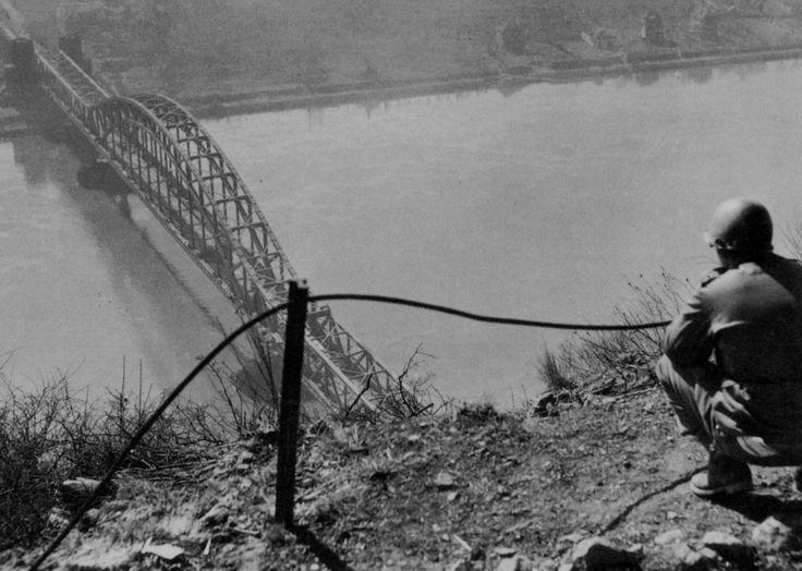 Remagen Bridge after capture