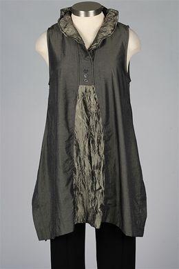 Farb-und Stilberatung mit www.farben-reich.com - TERRA - Sleeveless Tunic - Green