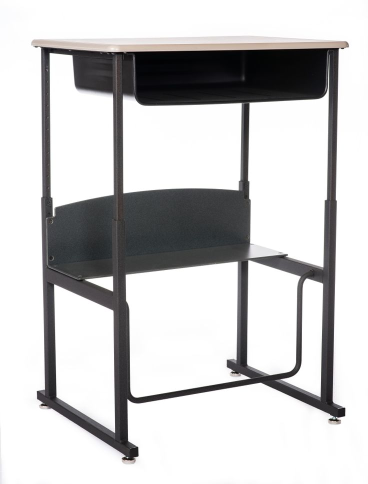 Student Desk - SWING BAR - Adjustable Height - Sit/Stand Height