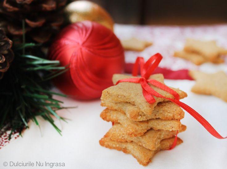Biscuiti cu Aroma de Turta Dulce (fara zahar, fara faina alba, 100% sanatosi)