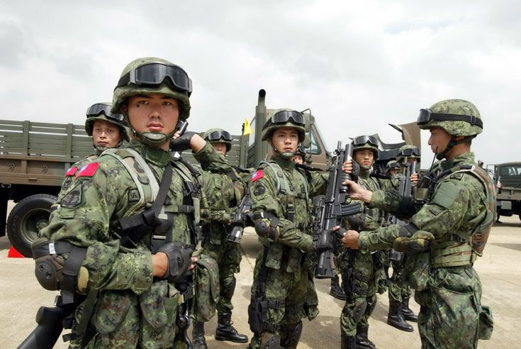 Republic Of China Army (Taiwan Army Soldiers)