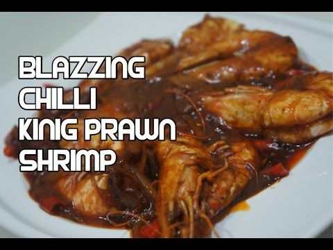 1163 best food videos images on pinterest chinese food recipes blazzing chilli shrimp recipe asian king prawn youtube forumfinder Images