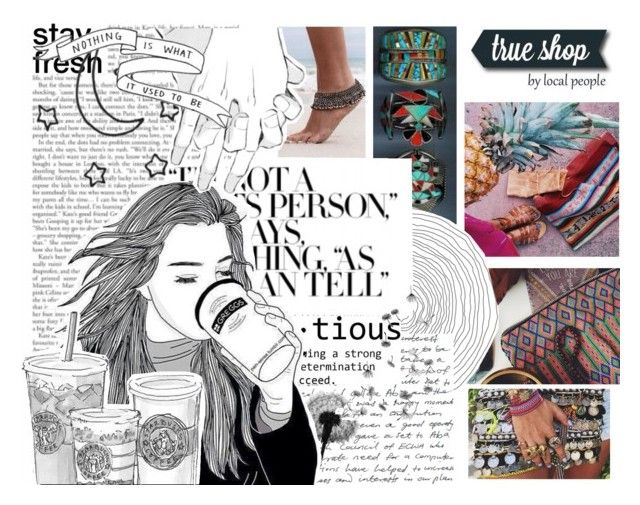 True Shop - Buy from local People and help their communities by trueshop on Polyvore featuring polyvore, fashion, style and clothing