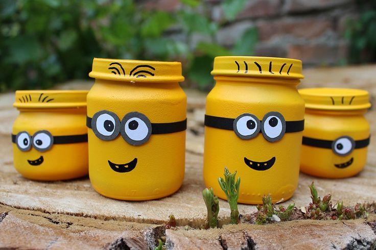 Cum puteti face cu un buget mic minioni din borcanele de sticla. Detalii pe BricoHub.ro