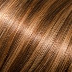 "18"" Kera-Link Straight # 6/10 (Dark Chestnut/Medium Ash) Donna Bella Hair Extensions"