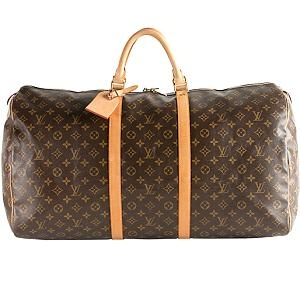 Louis Vuitton Monogram Canvas Keepall 60 Duffel Bag- A must have for travel!