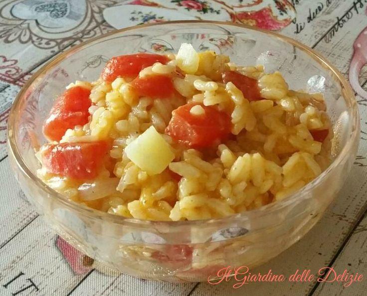 Risotto+all'anguria+e+pecorino+toscano