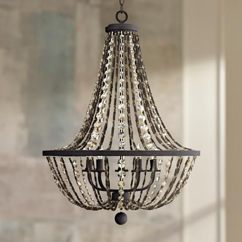 "Fredrick Ramond Hamlet 24"" Wide Bronze Chandelier - #3J887 