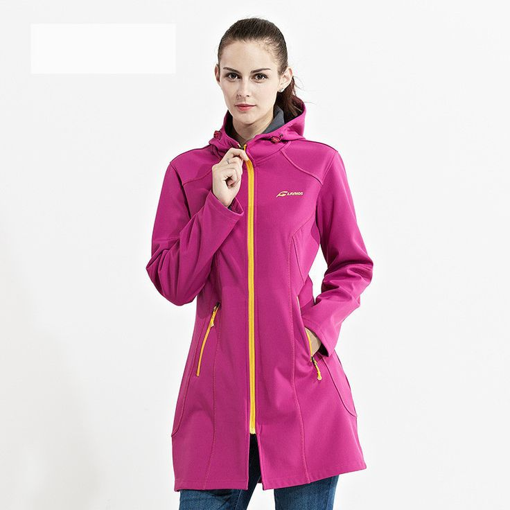Saenshing long waterproof softshell jacket women outdoor hiking jacket hunting clothes breathable chaqueta impermeable mujer