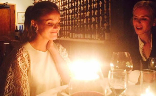 Reese Witherspoon's birthday cake brush fire  with Nicole Kidman