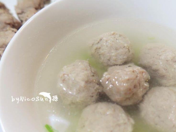 Pork meatballs 自製純肉貢丸