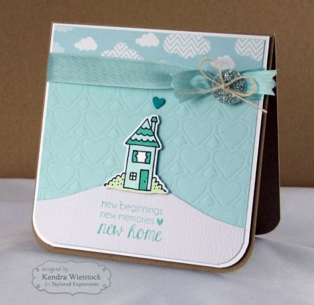 Card Making Ideas At Home Part - 29: Happy Home Card By: Kendra Wietstock #Cardmaking, #HomeSweetHome, #NewHome,