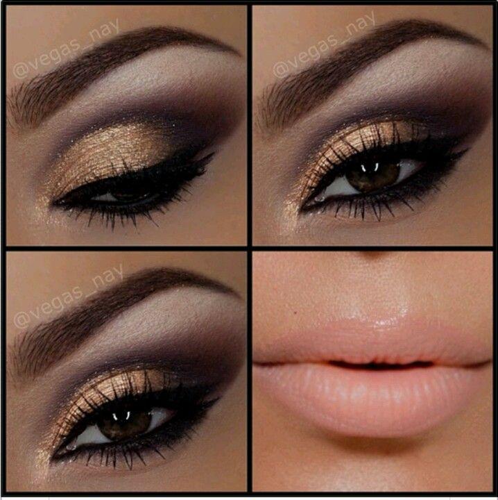 Maquillaje De Ojos Dorado Amazing Tutorial De Maquillaje Paso A