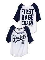 want the whole collection!!! Victoria's Secret - New York Yankees Clothing Line -- Online Shop