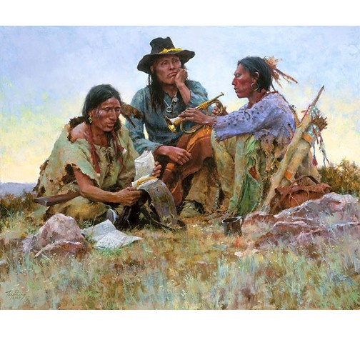 Found ont he Field of Battle by Howard TerpningAmerican Indian, Terpning Westerns, American Art, Westerns Art, Artists Howard, Howard Terpning, Artifacts Gallery, Image Size, Native American