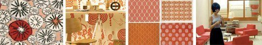 Definitely going to try mixing orange pillow cases with my red and cream curtains!