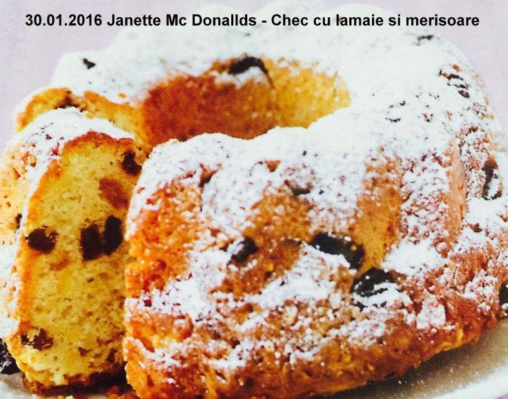 30.01.2016 Janette Mc Donallds - Chec cu lamaie si merisoarev
