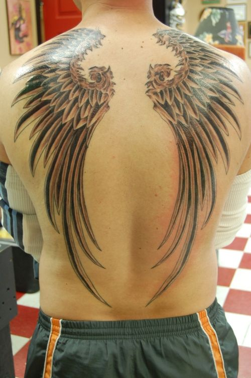 tattoos for men | 30 Awesome Back Tattoos For Guys | CreativeFan