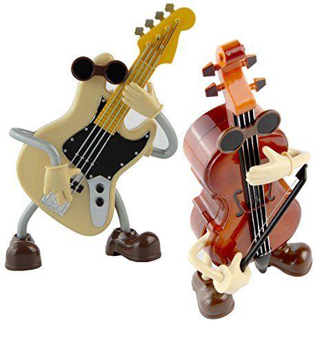 Fengye Personality Fashion Cartoon Acoustic Guitar Hand Crank Christmas Music Box