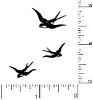 Small Sparrow Tattoo | haven't decided on whether I want to get a full silhouette or have ...