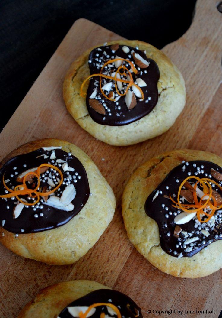 Fastelavnsboller med appelsin & marcipan remonce