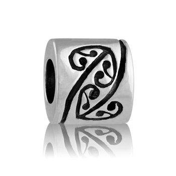 Heritage   NZ Silver Bracelet Charms - evolve-jewellery.co.nz