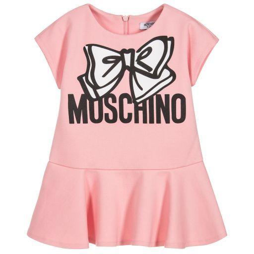 0774887b09d66 Moschino Baby - Baby Girls Milano Jersey Dress