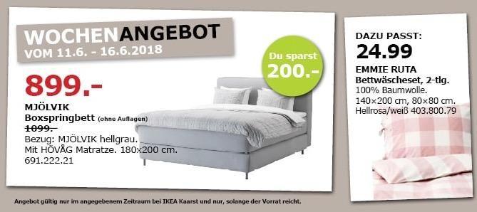 Ikea Mjolvik Boxspringbett Ikea Boxspringbett Bett