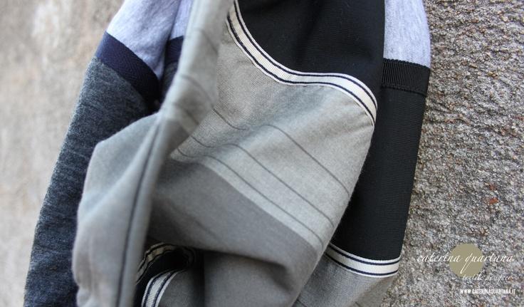 Infinity Scarf for Man.. details www.caterinaquartana.it