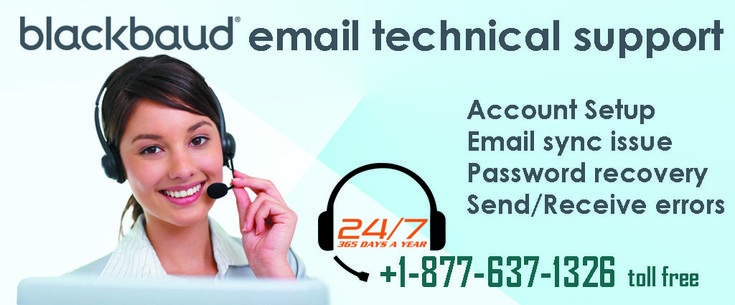 Contact for Blackbaud email Technical Support at 1877 637
