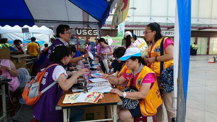 Taoyuan Loochu Woman #LionsClub (MD 300 Taiwan) held cancer screenings for 325 people