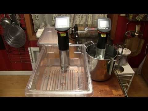 Anova Immersion Circulator Configurations for Sous Vide Cooking - YouTube