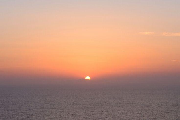 Santorini zonsondergang bruiloft