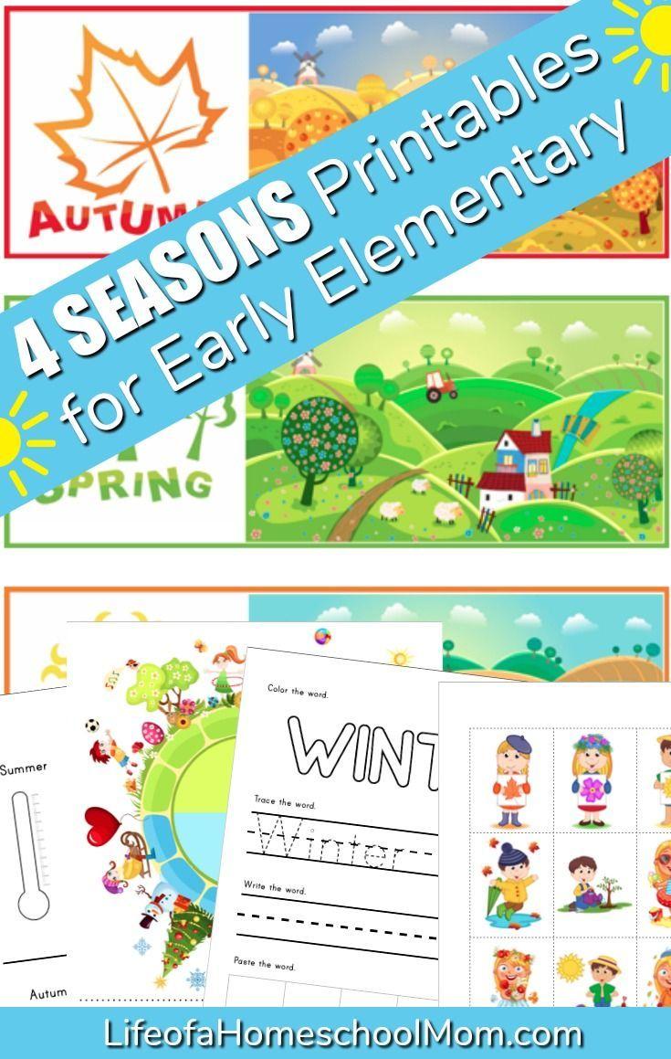 Free Four Seasons Printable Pack For Kids Subscriber Freebie Mom For All Seasons Seasons Activities Four Seasons Free Math Websites [ 1159 x 735 Pixel ]