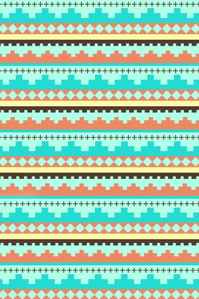 cute tribal wallpaper pattern pinterest turquoise