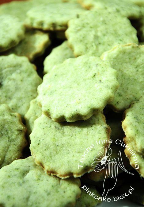 Nettle cookies Ciasteczka z pokrzywą