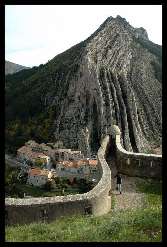 """* Sisteron. France. Beauty and the best """"brasserade""""!!"""