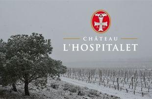 Château l'Hospitalet : Snow came to the South of France #Snow #Château