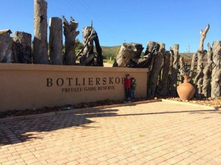 Garden Route accommodation - Botlierskop Game Reserve near Mossel Bay
