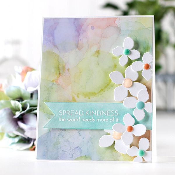 Shari Carroll Spread Kindness blog hop featuring Simon Says Stamp!