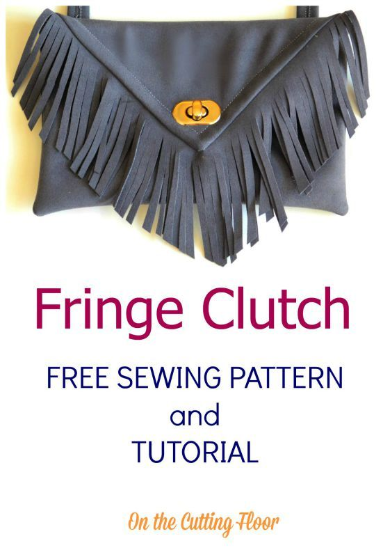 Beautiful Clutch Bag Patterns For Sewing Free Mold - Easy Scarf ...