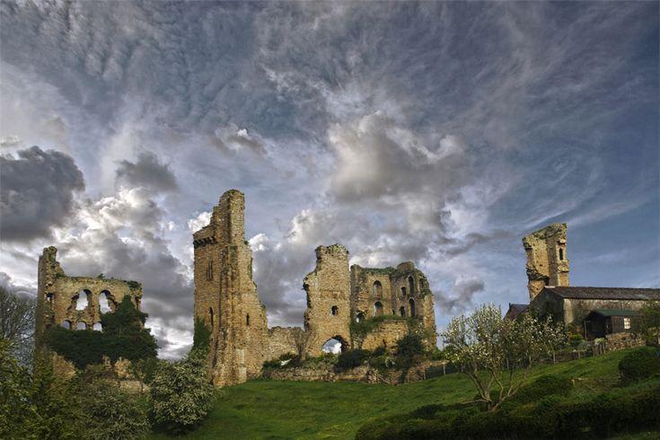Sheriff Hutton Castle, aquired by Sir Arthur Ingram
