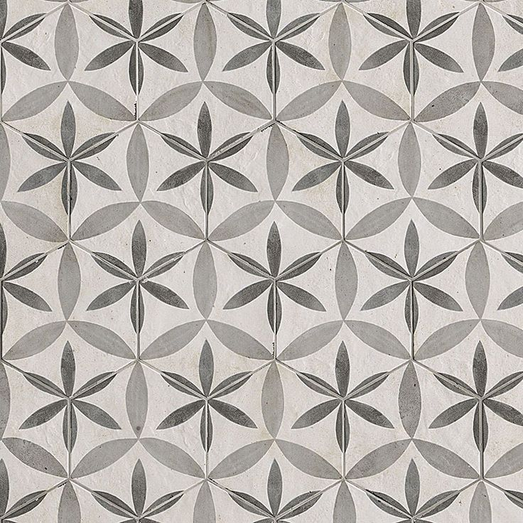 Firenze Deco Fiore Hex Gloss Floor and Wall Tiles | TileSpace - Tiles.co.nz