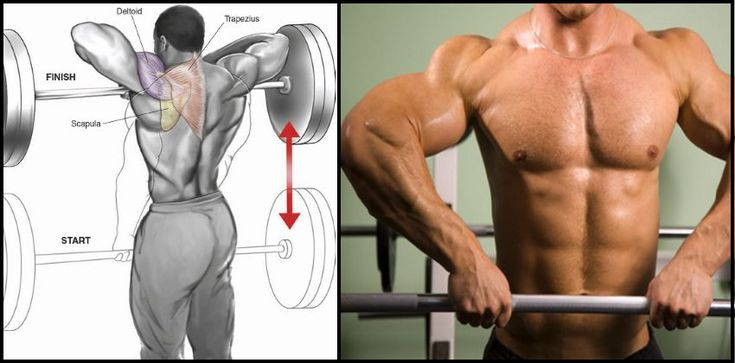 How to Build Wide Shoulders With The Upright Row