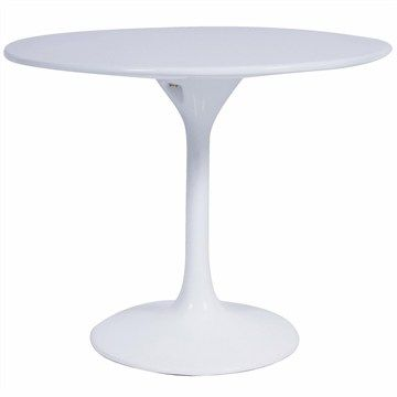 Tulip Commercial Grade Fiberglass 60x50cm Round Side Table $125